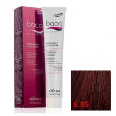 Крем-краска Kaaral Baco Color 6.85 темный махагоново-коричневый блондин 100 мл