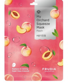 Тканевая маска с персиком Frudia My Orchard Squeeze Mask Peach 20 мл