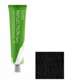 Безаммиачный краситель для волос CUTRIN REFLECTION DEMI 1.0 черный 60 мл