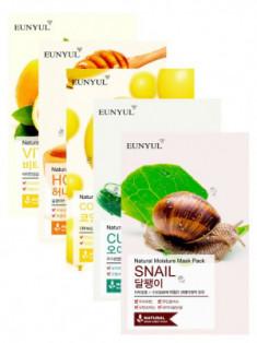 Набор тканевых масок Eunyul Экспресс-восстановление кожи 5 шт